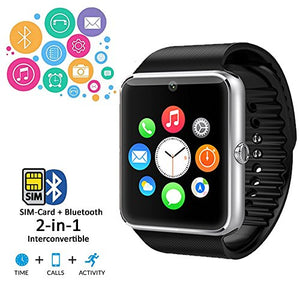 Indigi Unlocked! 2-in-1 GSM + Bluetooth SmartWatch Phone Camera Touch Screen Pedometer