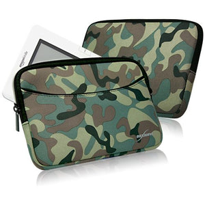 Kindle (2nd Gen) Case, BoxWave [Camouflage Suit with Pocket] Camo Suit w/Side Pockets for Storage for Amazon Kindle (2nd Gen), (1st Gen)