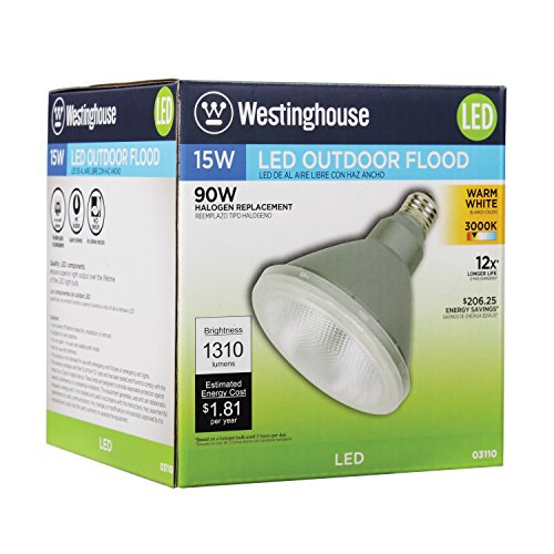 Westinghouse 0311000 15 Watt Replaces 90 Watt Par38 Led Flood Outdoo Directnine Europe
