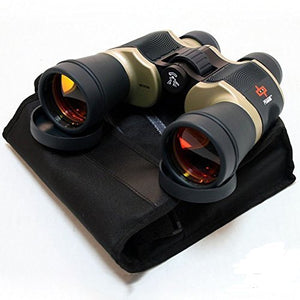 Binoculars Day/Night 20x60 Outdoor Bronze W/Pouch Perrini Camping