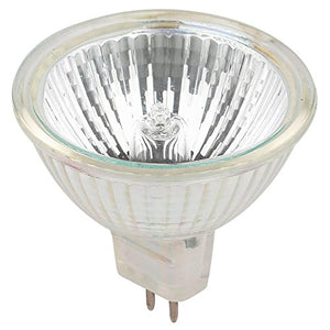 Westinghouse Lighting 0452100 20 Watt MR16 Halogen Flood Clear Lens Light Bulb with GU7.9/8.0 Base