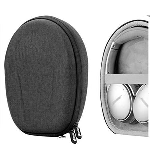 Geekria UltraShell Headphones Case for Bose QuietComfort QC35, QC25, QC15, Noise Cancelling Headphones 700, SoundLink, SoundTrue Headphone - Replacement Protective Hard Shell Travel Carrying Bag