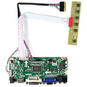 VSDISPLAY HDMI VGA DVI Audio LCD Driver Board for 14