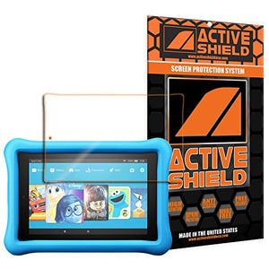 Amazon Kindle Fire HD 8 Kids Edition, 8-inch Tablet (2017) Screen Protector Active Shield all weather Premium HD shield with Lifetime Replacement Incentive Program