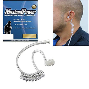 Twist On Replacement Acoustic Tube for 2-Way Radio Headsets by MaximalPower