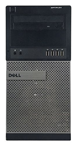 Dell OptiPlex 990 Business High Performance Tower Desktop - CI5 2400 3.1G,16G DDR3,1TB,DVD,Windows 10 Pro - Black/Silver - 16VFDEDT1158(Renewed)