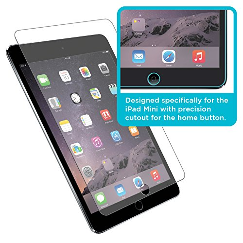 Tech Armor Premium Ballistic Glass Screen Protector For Apple I Pad Mini 1/2 / 3 [1 Pack]