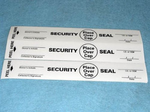 Security Seal Label (White) (100/pk)