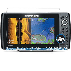 Tuff Protect Anti-Glare Screen Protectors for Humminbird Helix 10 Fish Finder