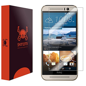 Skinomi Screen Protector Compatible with HTC One M9 Clear TechSkin TPU Anti-Bubble HD Film