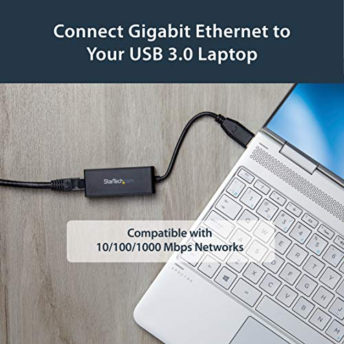Star Tech.Com Usb 3.0 To Gigabit Ethernet Adapter   10/100/1000 Nic Network Adapter   Usb 3.0 Laptop