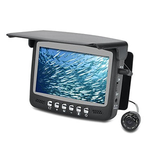 Underwater Fish Finder Video Camera - 1/3 Inch CMOS 4.3 Inch Screen 30M Cable 960x240 Resolution