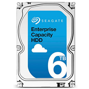 Seagate Enterprise Capacity 6TB | SAS Interface for Servers | ST6000NM0285 | 7.2K 12Gb/s 256MB Cache 3.5
