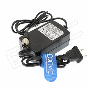 Eonvic ZAXCOM Sound Devices 4 Pin Male Hirose AC to DC Adapter 2A 12V for Sony