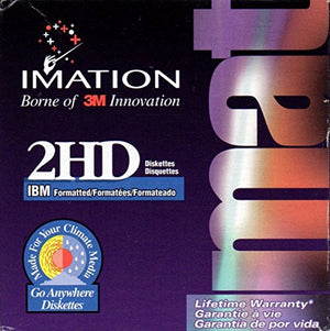 NEW Imation 25 Pack 2HD 3.5