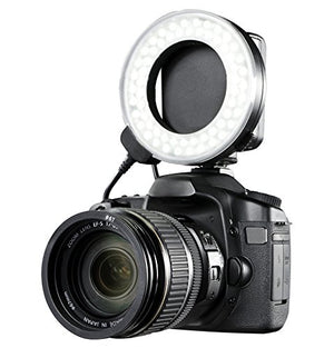 Nikon D3200 Dual Macro LED Ring Light/Flash (Applicable for All Nikon Lenses)