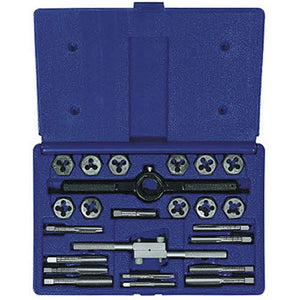 Irwin Industrial Tools 24614 Fractional Tap and Hex Die Set, 24-Piece
