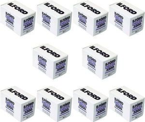 Ilford Delta 3200 135-36 10 Roll Pack