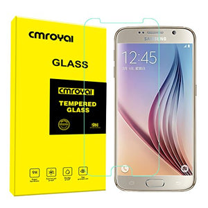 2 Pack of S7 Screen Protector Glass, Cmroyal Tempered Glass Screen Protector for S7 [3D Touch Compatible] [9H Hardness] [Crystal Clear] [Anti Fingerprint] [0.26mm] [Bubble-Free][Scratch-Resistant]