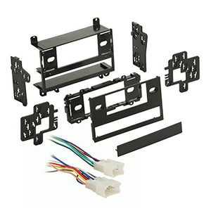 Metra 99-8100 Single/Double DIN Dash Kit + Harness for Select 1987-1993 Toyota