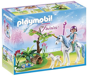 PLAYMOBIL 5450 Fairy Aquarella in The Unicorn Meadow