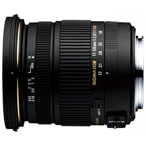 Sigma 17-50mm F2.8 DC OS HSM Large Aperture Standard Zoom Lens for Sony Digital DSLR Camera