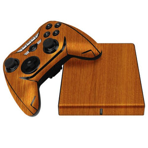 Skinomi Light Wood Full Body Skin Compatible with Mad Catz MOJO (Full Coverage) TechSkin Anti-Bubble Film