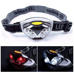 Headlamps - 3 Mode 6 Led Bike Headlamp Headlight Torch Light Waterproof - Led Headlight Waterproof Lumens Flashlight Head Lamp Water Proof Headlamp Light Camping Best - 1PCs