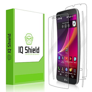 IQ Shield Full Body Skin Compatible with LG G Flex 2 + LiQuidSkin Clear (Full Coverage) Screen Protector HD and Anti-Bubble Film