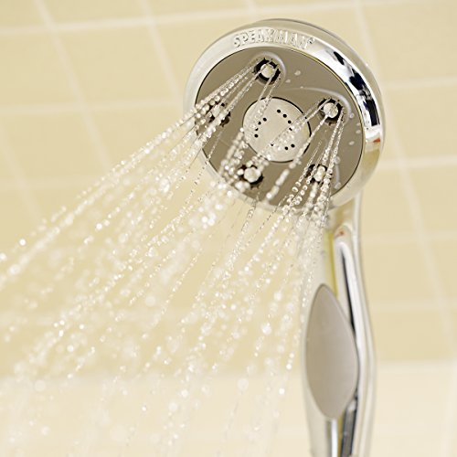 Speakman VS-2007 Napa Anystream Multi-Function Adjustable Handheld Shower Head, 2.5 GPM, Polished Chrome