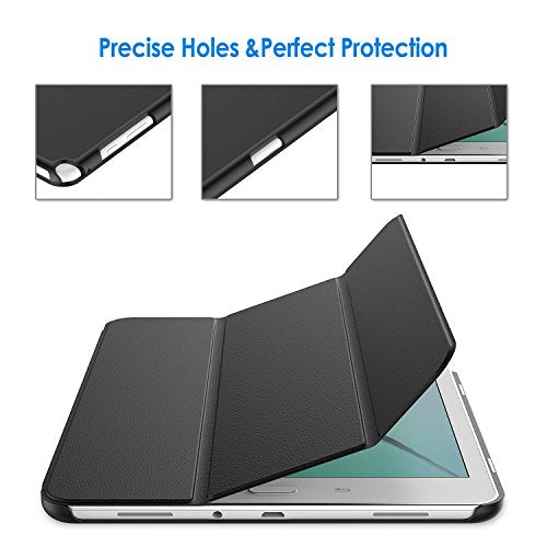 JETech Case for Samsung Galaxy Tab A 9.7 inch Tablet with Auto Sleep/Wake Feature (Black)