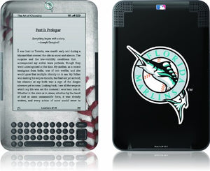 Skinit Kindle Skin (Fits Kindle Keyboard), Florida Marlins
