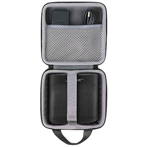co2crea Hard Travel Case for Bose SoundLink Color 2 Bluetooth Speaker II (Black Case)