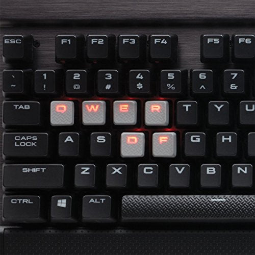 Corsair K70 Rapidfire Mechanical Gaming Keyboard   Backlit Red Led   Usb Passthrough & Media Control