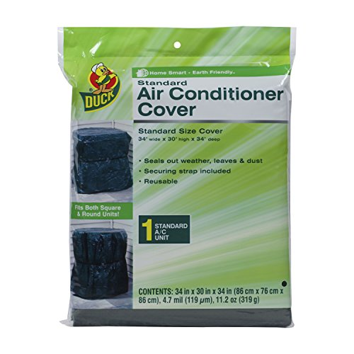 Duck Brand Standard Central Air Conditioner Cover, 34-Inch x 30-Inch x 34-Inch, 1431012