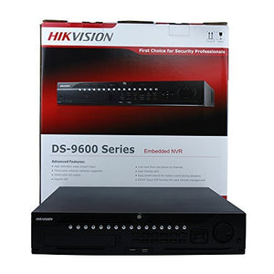 Hikvision English Version DS-9632NI-I8 32 Channel 4K NVR,Plug And Play Black