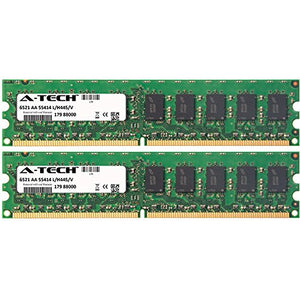 A Tech 4 Gb Kit (2 X 2 Gb) For Hp Compaq Workstation Series Xw4300, Xw4300/Ct, Xw4400, Xw4600 Dimm Ddr