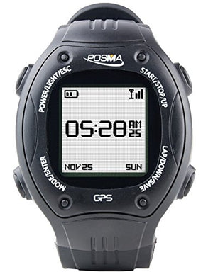 Posma W2 GPS Navigation Running Cycling Hiking Multisport Watch with ANT+ Compatibility Strava MapMyRide/MapMyRun