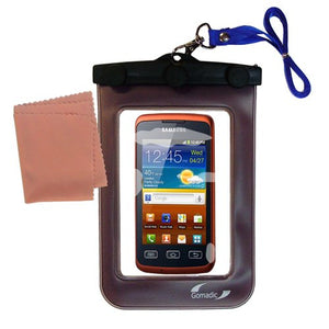 Gomadic Outdoor Waterproof Carrying case Suitable for The Samsung Galaxy Xcover to use Underwater - Keeps Device Clean and Dry