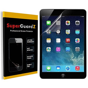 [2-PACK] For iPad Air 2 & 1 / iPad Pro 9.7 - SuperGuardZ [Bubble-Free] [Explosion-proof] [Anti-Shock] Screen Protector, Ultra Clear, Anti-Scratch