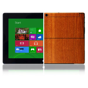 Skinomi Light Wood Full Body Skin Compatible with Microsoft Surface Windows RT (Full Coverage) TechSkin with Anti-Bubble Clear Film Screen Protector