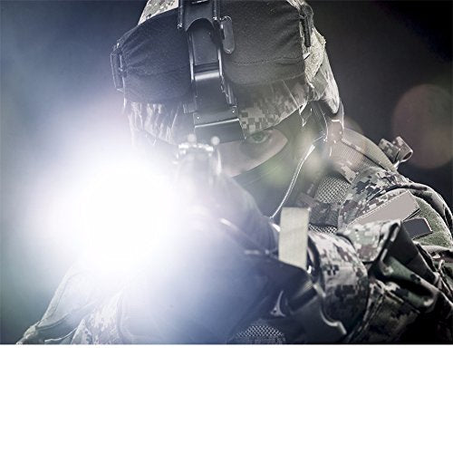 Eco Gear Fx Led Tactical Flashlight   Tk120 Bright High Lumens With 5 Light Modes, Water Resistant, Z