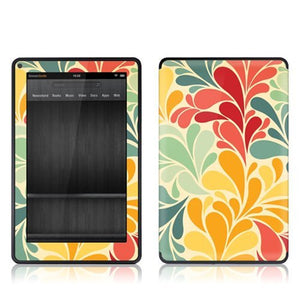 Gelaskins Protective Film for Amazon Kindle Fire - Sea Garden