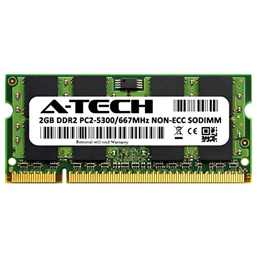 A-Tech 2GB Memory for Apple MacBook and MacBook Pro PC2-5300 667MHz