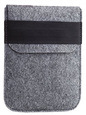 Kindle Paperwhite Sleeve - Kindle Voyage, Protective Felt Cover Case Pouch Bag for Amazon Kindle Paperwhite - Voyage (Light Grey)