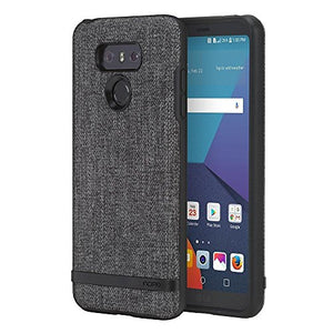 LG G6 Case, Incipio[Esquire Series] [Co-Molded] Carnaby Case for LG G6 - Gray