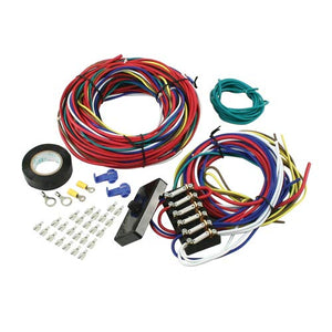 BUGGY WIRE LOOM KIT, With Fuse Box, Dunebuggy & VW