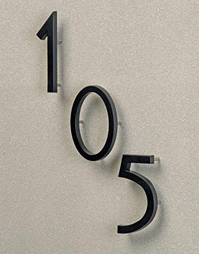 "Hy-Ko Products FM-6/8 Floating House Number 8 (EIGHT) 6"" High Black"
