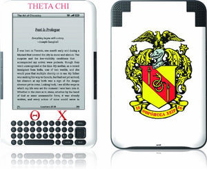 Skinit Kindle Skin (Fits Kindle Keyboard), Theta Chi
