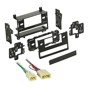 Metra 99-8100 Single/Double DIN Dash Kit + Harness for Select 1983-1987 Toyota